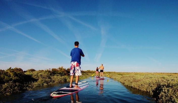 Sup Evasion organise des randonnées en paddle.