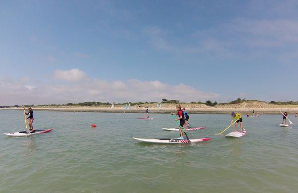 Stage initiation de paddle pour les enfants junior
